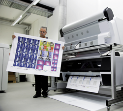 "Along with the change from the 20x28"" format (50x70 cm, 4up) to the 28x40"" format (70x100 cm, 8up), Jordi Ltd. also upgraded their proofing output by investing in the new Preproofer 970."